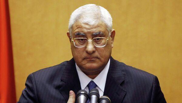 Глава МИД Ливана Аднан Мансур. Архив