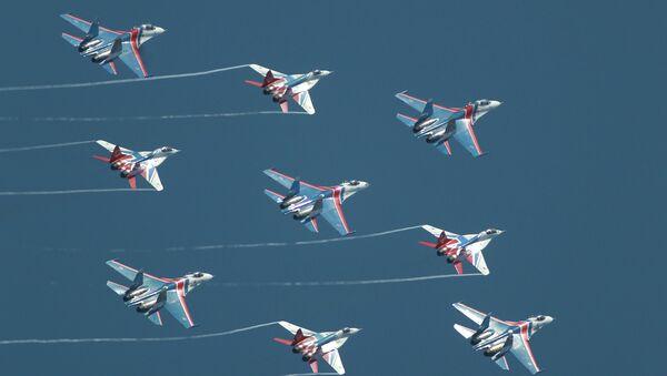 Открытие международного военно-морского салона в Санкт-Петербурге