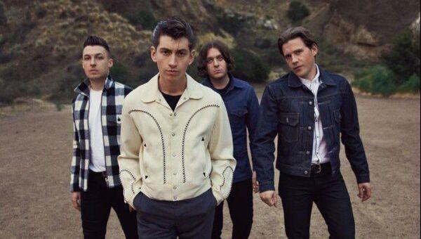 Группа Arctic Monkeys, архивное фото