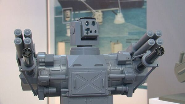 Роботизированный ЗАК Пальма и автомат-амфибию представили на МВМС-2013