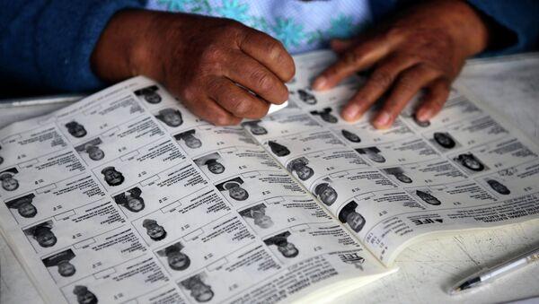Фотографии кандидатов на выборах в Мексике