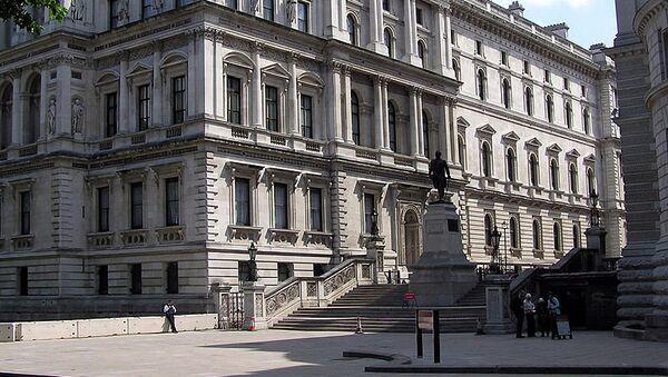 Здание Министерства иностранных дел Великобритании в Лондоне