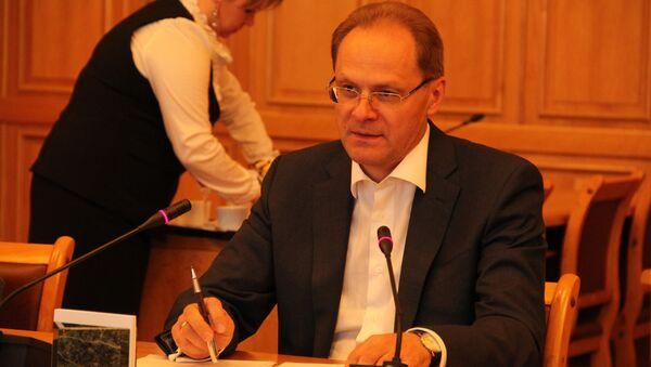 Встреча блогеров с губернатором Новосибирской области Василием Юрченко на НеФоруме