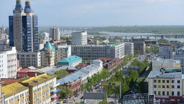 Виды Новосибирска, архивное фото