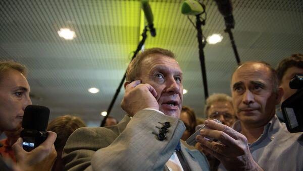 Глава российской секции Amnesty International Сергей Никитин. Архивное фото
