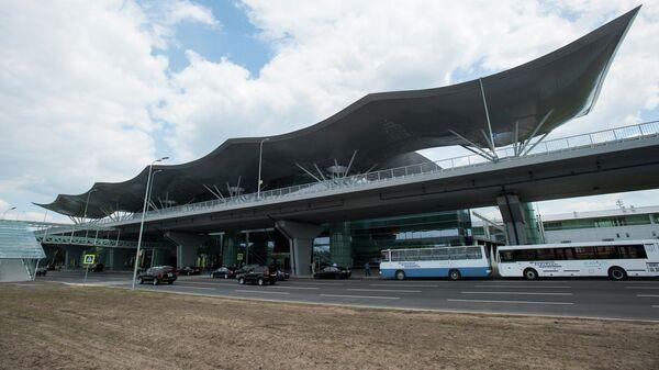 Здание терминала D Киевского международного аэропорта Борисполь. Архивное фото