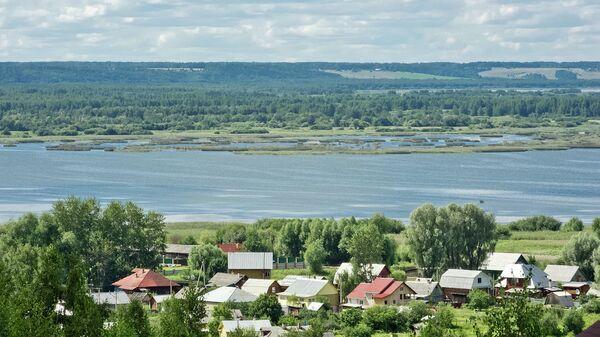 Город Галич Костромской области. Архивное фото