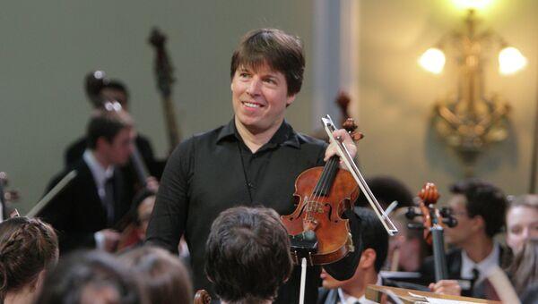 Американский скрипач Джошуа Белл. Архивное фото