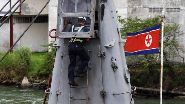 Судно из КНДР задержано в Панаме