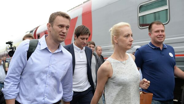 А.Навальный прибыл в Киров на оглашение приговора суда