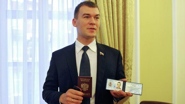 Кандидат в мэры Москвы Михаил Дегтярев. Архив