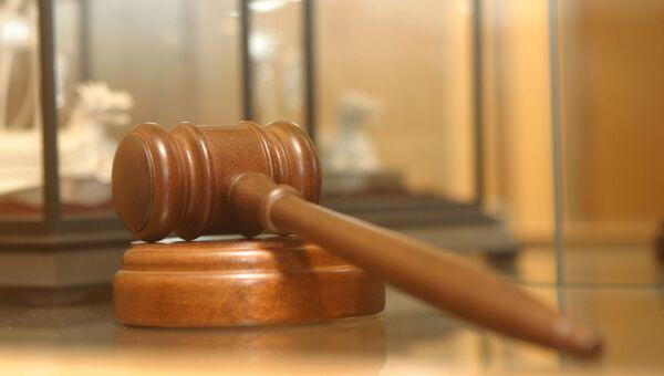 Молоточек судьи. Архивное фото