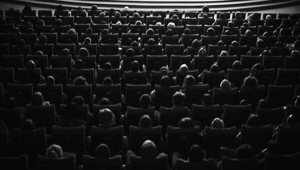 Зрительный зал в кинотеатре