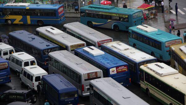 Автобусы во Владивостоке. Архивное фото.