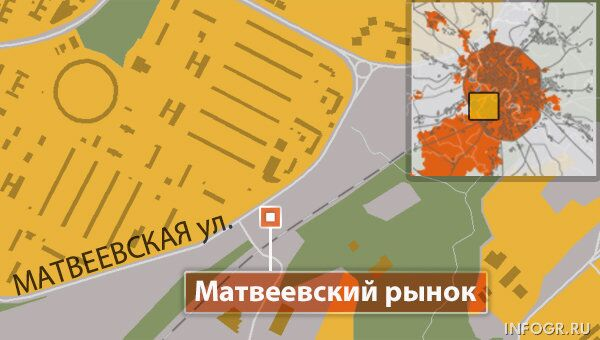 Матвеевский рынок в Москве