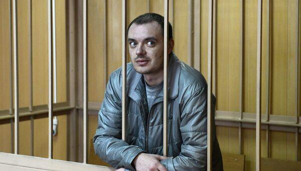 Обвиняемый Алексей Русаков