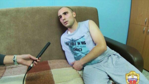 Полицейский рассказал, как на него напали во время задержания предполагаемого преступника около рынка Матвеевский в Москве