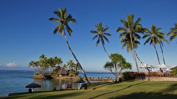 Природа на Фиджи. Архивное фото