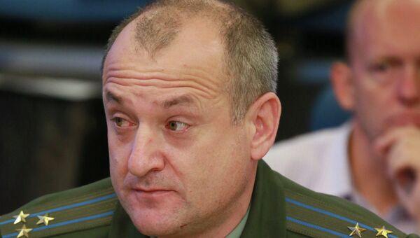 Начальник Управления физической подготовки ВС РФ полковник Олег Боцман. Архивное фото