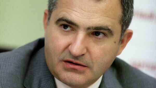 Председатель президиума АКОРТ Лев Хасис на саммите Retail Business Russia 2011