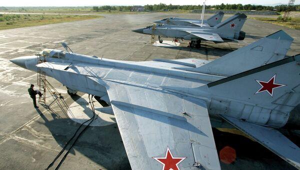 Истребители МиГ-31, архивное фото
