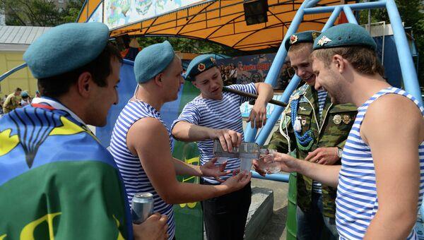 День ВДВ в Новосибирске