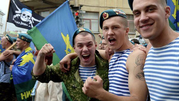 День ВДВ в Петербурге