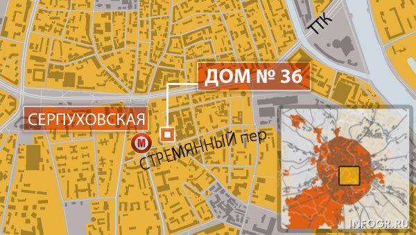Москва  Стремянный переулок, 36.  столовая РЭУ им.Плеханова