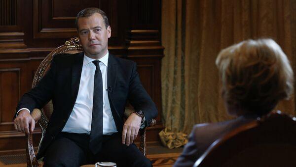 Интервью Д. Медведева телеканалу Russia Today