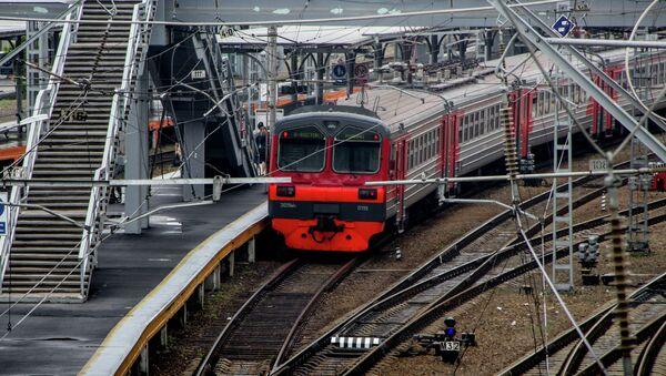 Электропоезд во Владивостоке. Архивное фото