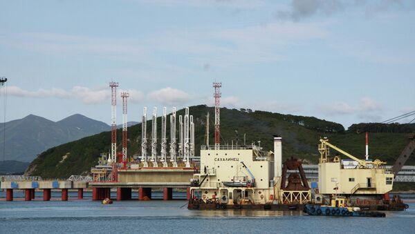 Порт Козьмино. Архивное фото