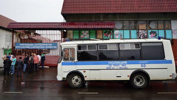 Рынок Выхино закрыт после комплексной проверки