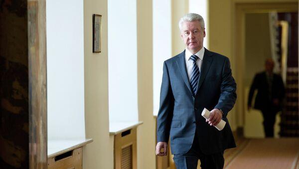 Временно исполняющий обязанности мэра Москвы Сергей Собянин