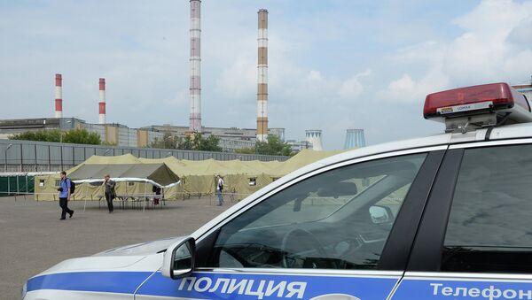 Автомобиль сотрудников правоохранительных органов. Архив