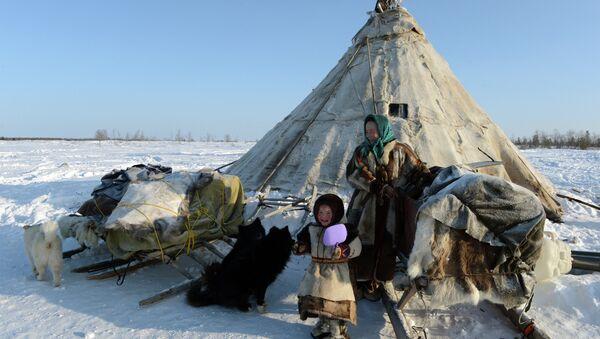 Кочевые народы. Архивное фото