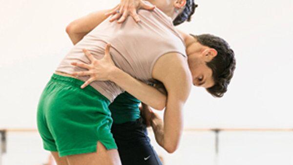 Репетиция балета Ромео и Джульетта Королевского балета Фландрии (Бельгия)