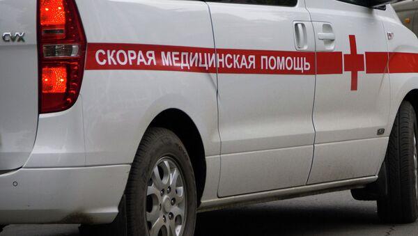 Карета скорой помощи на улицах Владивостока. Архивное фото