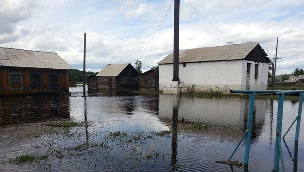 Паводок в Тунгокоченском районе Забайкальского края в июле 2013 года