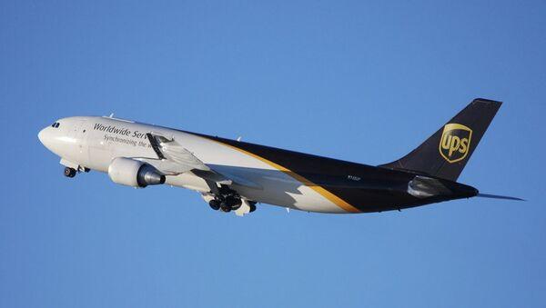 Самолет Airbus A300 компании UPS. Архивное фото