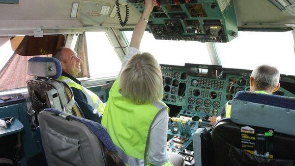 Как самолет становится музеем: в Новосибирске реставрируют Ил-86