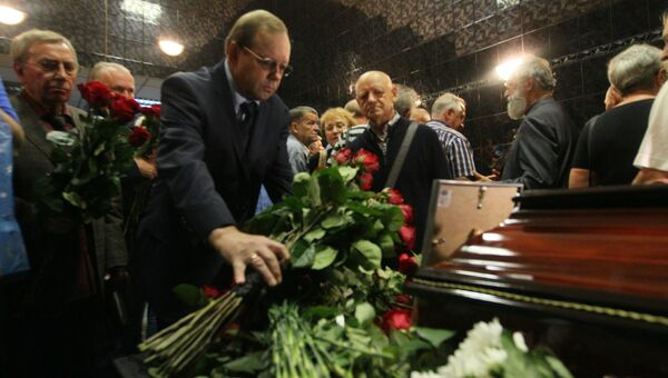 Прощание с Василием Песковым
