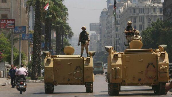 Полиция в Каире. Архивное фото