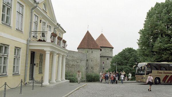 Здание Посольства РФ в Эстонии. Архивное фото