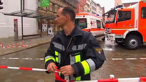 Полиция окружила ратушу в Германии, где мужчина удерживал заложников