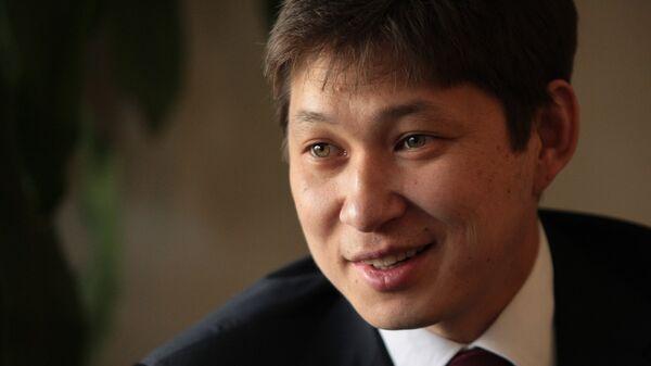 Заведующий отделом внешней политики, заместитель руководителя аппарата президента Киргизии Сапар Исаков