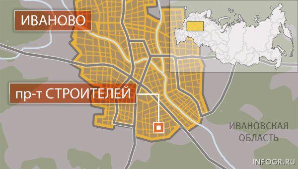 Проспект Строителей, Иваново