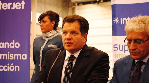 Исполнительный президент Interjet Мигель Алеман Магнани