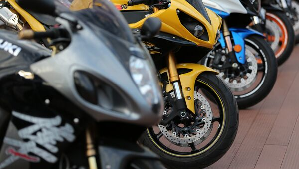 Мотоциклы. Архивное фото