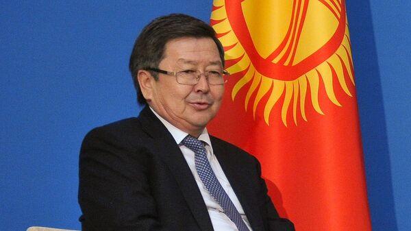 Бывший премьер-министр Киргизии Жанторо Сатыбалдиев