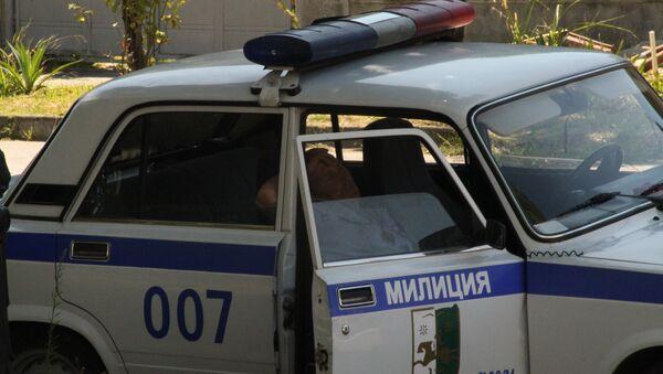 Милиция Сухума. Архивное фото